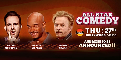 David Spade,  Damon Wayans, and more - All-Star Comedy tickets