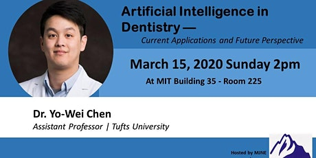 Artificial Intelligence in Dentistry tickets