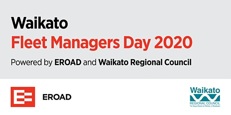 Fleet Managers Day Waikato 2020 tickets