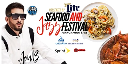 Jon B 5th Annual Seafood & Jazz Festival