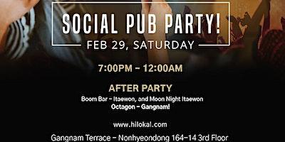 Social Pub Party!(Gangnam)