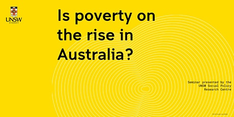 SPRC Seminar Series: 2020 Poverty in Australia Overview tickets