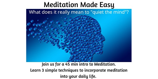 Meditation Made Easy March 19