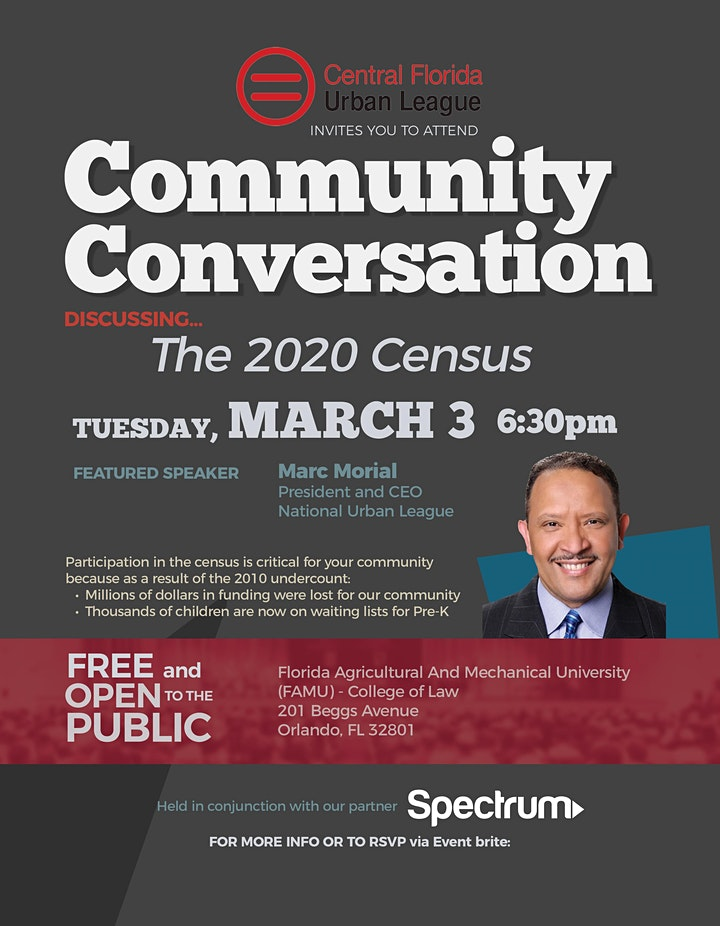 Census Town Hall with National Urban League President & CEO Marc Morial image