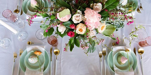 Festive Easter + Springtime Floral Centerpiece Workshop