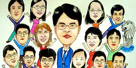 Caricature Drawing 漫画艺术 - 8 Sessions From May 5 tickets
