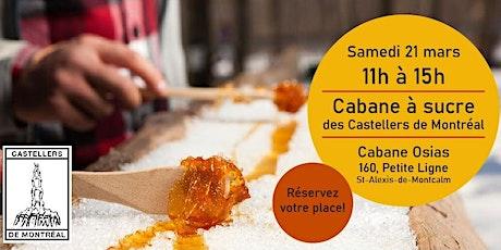 Cabane à sucre des Castellers de Montréal - 2020 billets