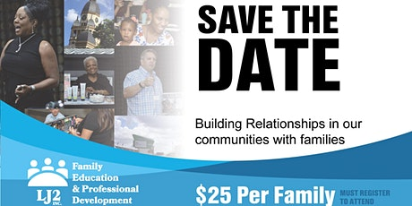 Building Relationships in our communities with families tickets