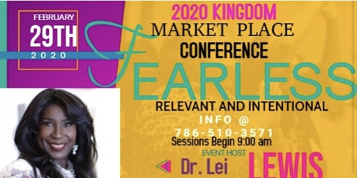 FEARLESS, RELEVANT AND INTENTIONAL - A MARKETPLACE CONFERENCE