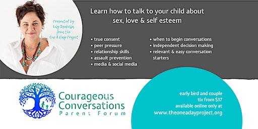 BELLINGEN  - Courageous Conversations Parent Forum