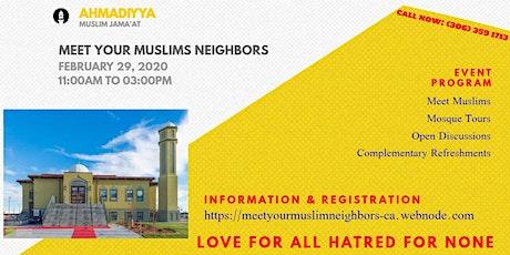 Meet Your Muslim Neighbors tickets