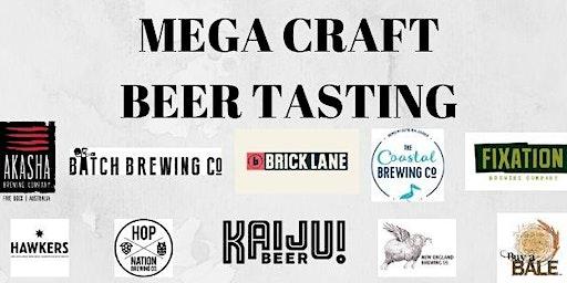 Mega Craft Beer Tasting