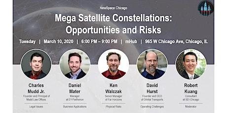 Event Tue 03/10: Mega Satellite Constellations - Opportunities & Risks tickets