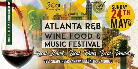 Atlanta R&B Wine Food & Music Festival tickets