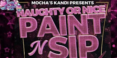 Naughty or Nice Paint n Sip tickets