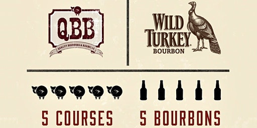 BBQ Dinner with Wild Turkey Bourbon @ QBB