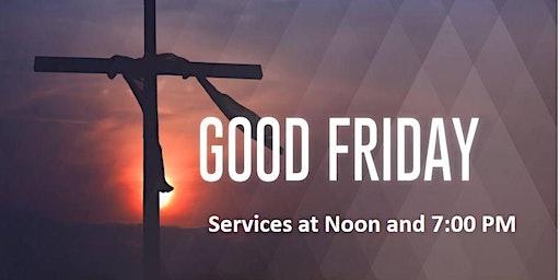 Good Friday Service - 7:00 PM