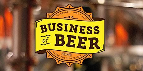 Business of Beer tickets