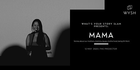 WYSH presents What's Your Story Slam - MAMA tickets