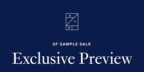 RTR SF Sample Sale: RTR Reps tickets