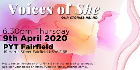 Voices of SHE tickets