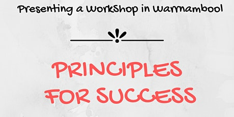 Principles for Success - Warrnambool tickets