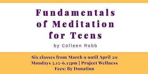Fundamentals of Meditation for Teens