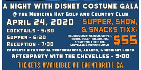 A night with Disney Costume Party tickets