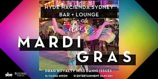 Hyde Hacienda Sydney does Mardi Gras