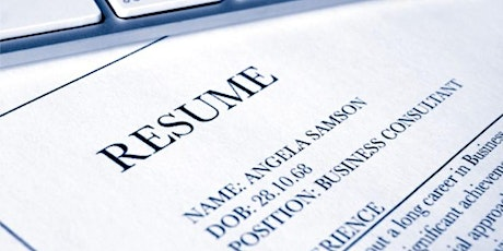 Be Job Ready - Resume and Cover Letter Writing tickets