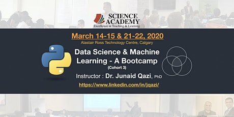 Data Science & Machine Learning with Python - A Bootcamp (Cohort: 3) tickets