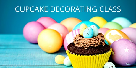 16 April - KIDS & ADULTS Kingsley: Cupcake Decorating Class tickets