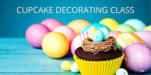 16 April - KIDS & ADULTS Kingsley: Cupcake Decorating Class