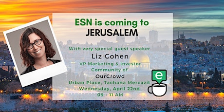 English Speaking Networking launches in Jerusalem tickets