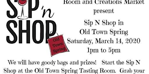 Sip N Shop Old Town Spring
