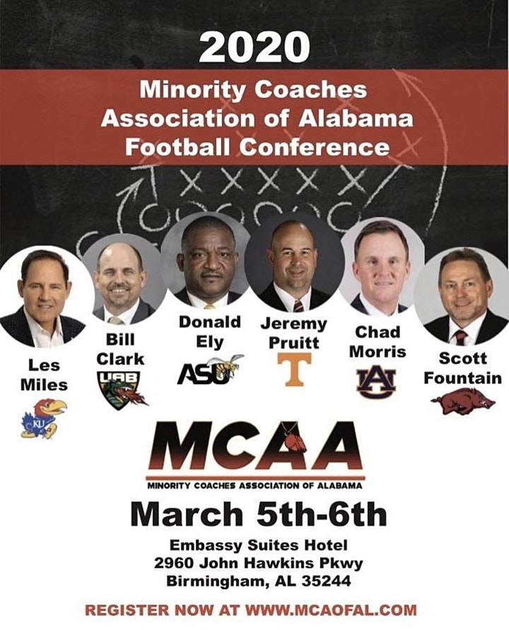 2020  Minority Coaches Association of Alabama   Football Conference image