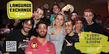 Registro CDMX Centro: Language Exchange & Saturday Night boletos