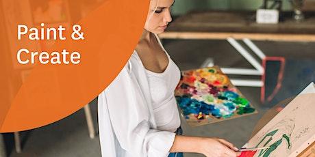 Paint & Create Workshop tickets