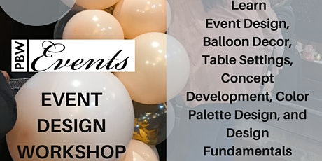 Event Design Workshop tickets