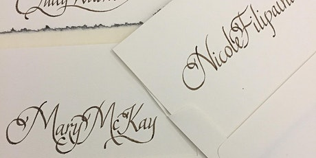 Calligraphy writing with Ink & Nib tickets