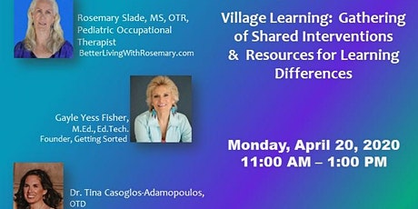 Village Learning  Gathering of Shared Interventions For Learning Difference tickets