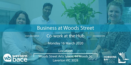 Co-work at the Hub Mon 16th March tickets