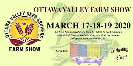 OTTAWA VALLEY FARM SHOW tickets