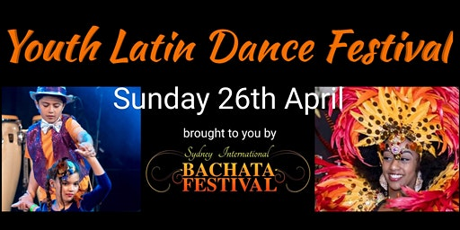 Youth Latin Dance Festival - Sunday 26th April