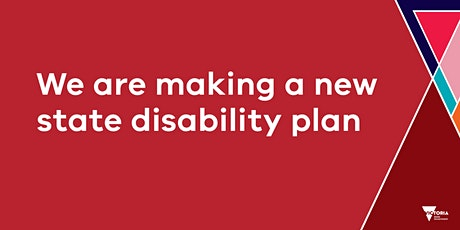 Victorian state disability plan 2021-2024 consultation- North West Victoria tickets