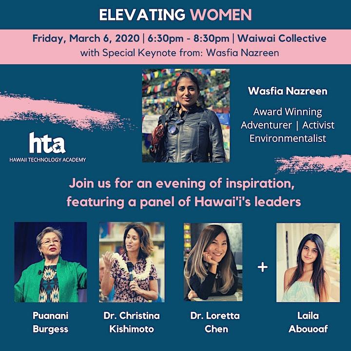 Elevating Women - Wasfia Nazreen Keynote & Leadership Panel image