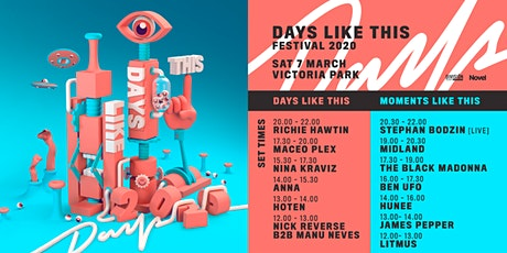 Days Like This Festival 2020 tickets