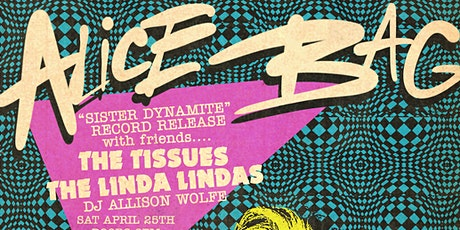 Alice Bag record release show + The Tissues & The Linda Lindas tickets