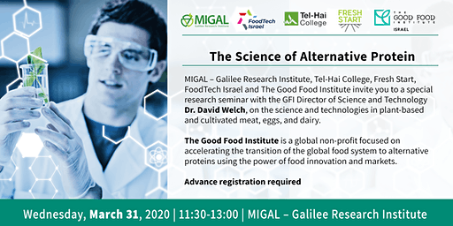 Migal Seminar: The Science of Alternative Protein