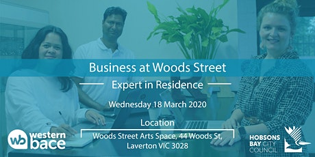 Expert in Residence  Wed 18th March tickets